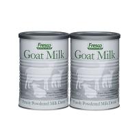 【新西兰直邮】FRESCO加DHA低脂加钙孕妇儿童成人老年人山羊奶粉 2罐装