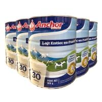 新西兰直邮ANCHOR 安佳全脂成人奶粉罐装 900g X 6罐一箱