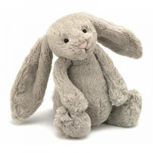 JELLYCAT 毛绒玩具兔子 大号Large 奶茶色 36cm