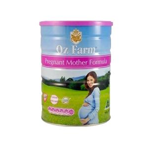 新西兰直邮 【一罐包邮 】OZ FARM 澳美滋产前孕期哺乳孕妇配方奶粉 含DHA 叶酸 900G 可和保健品混寄