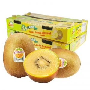 【水果】新西兰zespri阳光金果 猕猴桃 30# 原箱30个装 120g/个