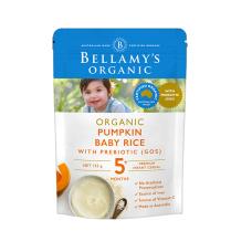 Bellamy's 贝拉米有机婴儿米粉米糊 5+ 125g(口味随机发)