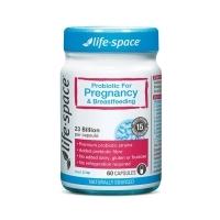 Life Space 孕妇益生菌胶囊 60粒 母婴专区