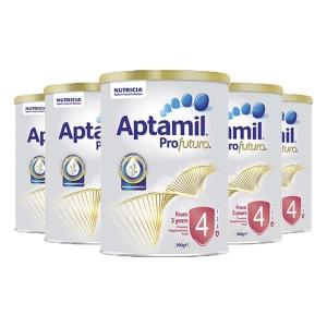 新西兰直邮 Aptamil 爱他美白金铂金 4段 900g 6罐1箱