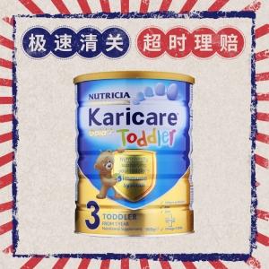 特快线新西兰直邮  Karicare可瑞康金装牛奶粉 3段 6罐1箱 900g 12-24个月