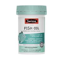 Swisse 儿童鱼油咀嚼胶囊 橙子口味 60粒