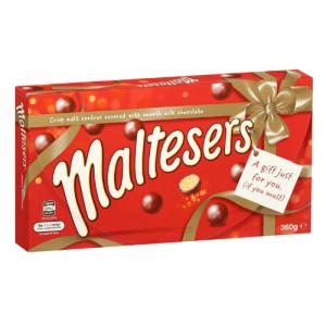 Maltesers 麦丽素 巧克力 香脆可口 圣诞礼盒 360g