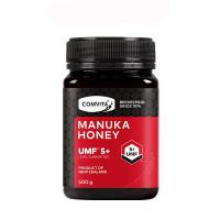 Comvita康维他 天然麦卢卡蜂蜜UMF5+ 500g(全新包装)再送蜂胶糖一包