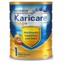 【特快线】新西兰直邮  Karicare可瑞康金装牛奶粉 1段 6罐1箱 900g 0-6个月