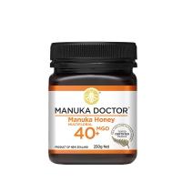【4瓶限时特价包邮总价26】MANUKAU DOCTOR 马努卡蜂蜜 MGO40+ 250G * 4瓶